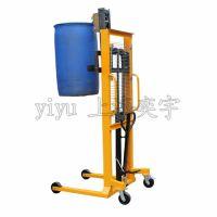 YIY-DT400A手动液压油桶堆高车,油桶升高车