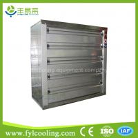 waterproof automatic shutter air guard stainless steel industrial marine ventilation exhaust fan