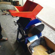 全自动快速挤扁机 五谷粮食颗粒压扁机 家用电花生轧胚机 宏兴机械
