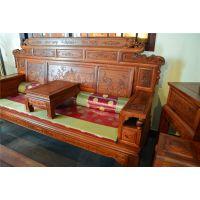 财源滚滚沙发11件套-缅甸花梨-军兰红木-古典中式-榫卯结构-实木定做家具