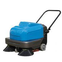 操场地面树叶怎么清理 凯德威DL-850手推式扫地机