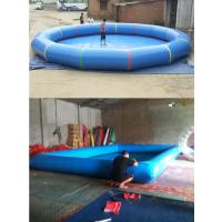 新款室内外大小型水池报价 儿童乐园充气游乐设备 定做沙池钓鱼池游泳池