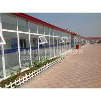 天津津南祈虹彩钢厂家直销低价环保新型qhcg-003工地保暖防火彩钢板活动房