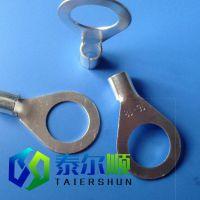 厂家供应冷压接线裸端头 OT16-40冷压接线端子 铜鼻标准及非标件