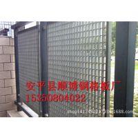 吉林钢格栅板护栏围墙 热镀锌钢格栅板 小区别墅金属格栅质量保证
