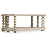 外贸实木家具 |宜美仓美式实木yy802-16仿古白咖啡桌