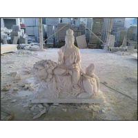 四川石雕观音,石雕观音图片,石雕观音制做厂家
