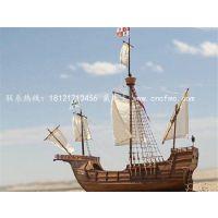 楚风木船出售海盗船 装饰景观船摆件 园林装饰船 海盗船厂家