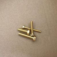 广东铜材外六角 东鸿盛六角铜螺丝 黄铜螺栓 非标铜紧固件