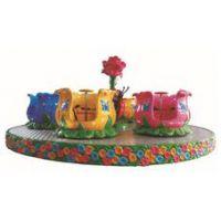 游乐场转杯 儿童乐园设备设施 玫瑰转杯 大型户外游乐设备
