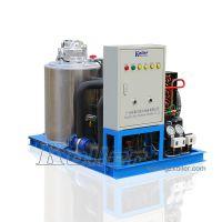 科勒尔制冷设备日产量1吨片冰机应用于超市保鲜蔬果加工海产运输