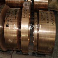深圳TU1无氧紫铜带1.0 1.2*420mm镀锡紫铜带软态