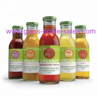 Supply 12oz Clear Beverage Glass Bottle