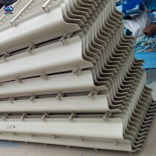 PP两通道除雾器 折流板170-35 脱硫专用除沫器 华强