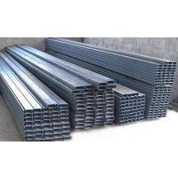 兰州镀锌c型钢制造它的壁厚可以制得很薄,而且大大简化了生产工艺,提高生产效率。