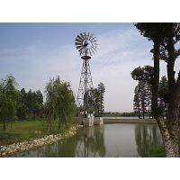 大型风能设备--风力抽水风车--铁人风车