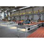 Plastic Trapezoidal Wave Plate Rolling Machine For Chemical Resistance PVC Panel