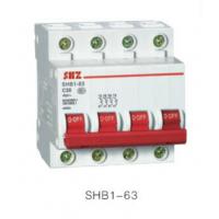 供应上海尚自SHB1L-63系列小型漏电断路器 厂家直销