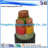 厂家供应YJV 3*150+2*95 铜芯电力电缆 国标低压电线电缆