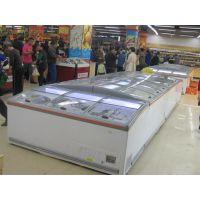 供应超市 组合岛柜 食品速冻岛柜 广州超市岛柜厂家
