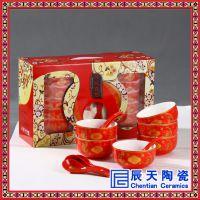 批发大寿优质礼品 陶瓷寿碗定做 景德镇陶瓷寿碗厂家