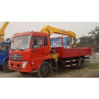 程力5吨随车吊_五吨自备吊价格_东风EQ5160JSQG1-40伸缩臂吊