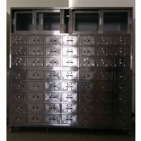 河南濮阳不锈钢中西药柜供应商梁经理护理床供应