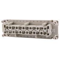 供应WAIN唯恩/西霸士24回路重载连接器(HE系列,螺钉压接)