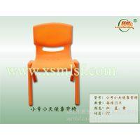 联顺发小天使塑料靠背椅,儿童塑料椅子批发,幼儿园塑料餐椅报价
