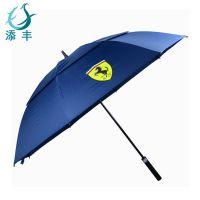 高尔夫伞、高尔夫防风伞、奔驰高尔夫促销礼品伞、宝马高尔夫广告伞、法拉利高尔夫伞添丰雨伞厂定做
