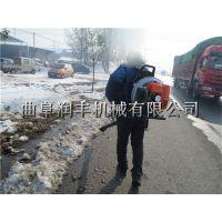 手拉启动吹雪机图片 销量排行靠前的汽油吹雪机厂家 润丰
