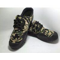 河南省作训靴厂家批发 森林防护靴 迷彩帆布鞋 、防护鞋 打猎靴OSPOP焦作天狼