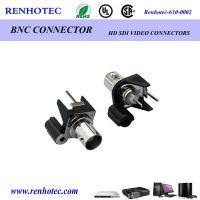 供应仁昊BNC1*1连接器 单孔视频接头