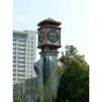 康巴丝挂钟 大型四面报时欧式大钟 田园风格塔钟 金属材质