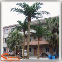 厂家批发仿真植物大型椰子树 夏威夷沙滩椰子树 钢结构玻璃钢树