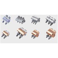 供应鸿煜牌接续金具铜铝异型并沟线夹JBK16-120铜铝跨径线夹16-120