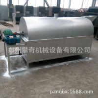 大型滚筒干果类炒锅 大型不锈钢滚筒炒货机
