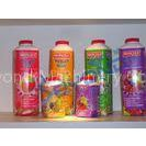 SUS 304 Complete Fruit Juice Processing Line with Plastic / Glass Bottle Packing Machine