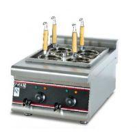 杰冠EH-488商用台式四头电热煮面机 麻辣烫机器 煮粉炉 电煮炉