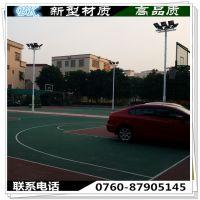 五桂山篮球场灯柱一般用多高的?6-8米篮球场灯柱 3.5MM镀锌管