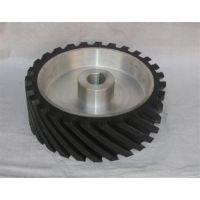 水磨机抛光轮(在线咨询),橡胶轮,砂带机橡胶轮PU轮