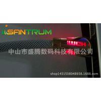 HDMI数字信号传输线 延长线 加网带彩色LED灯