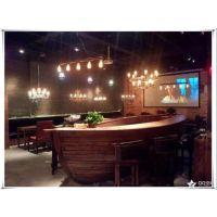 船型酒吧吧台 实木吧台价格