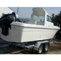 钓鱼艇 豪华钓鱼艇 国产钓鱼艇品牌 HA630D威海海安游艇厂家