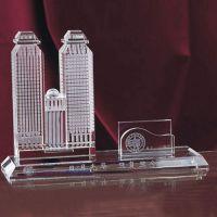 深圳水晶工艺品厂家,商会成立周年纪念品,公司开业10周年纪念品厂家定做