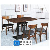 酷海家具韶关定制餐厅家具KH-2201简约现代餐厅桌椅优质耐磨