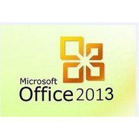 Microsoft 供应Office 2013 专业 英文