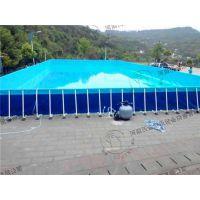 安徽支架游泳池、河南沃金、儿童支架游泳池