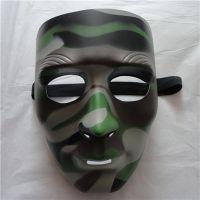 供应批发街舞面具 面具厂家 迷彩CS面具 真人野战防护面具 野外面具