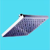 普斯迪热销LED发光ABS花洒顶喷 方形淋浴头 FL200001 8寸